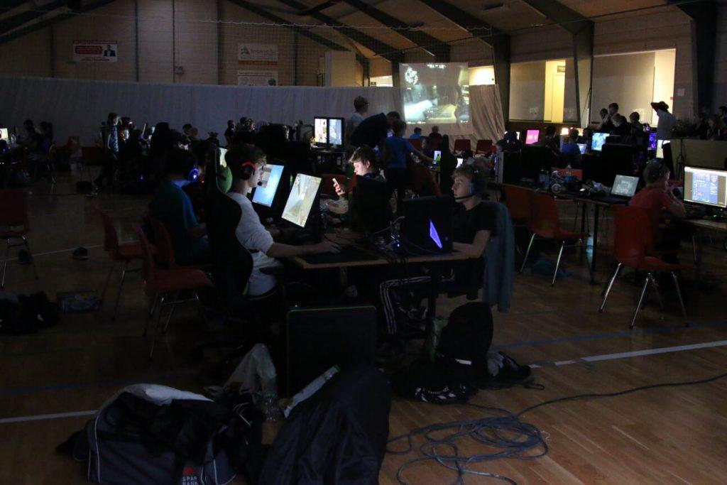 Spentrup Computerspillere til LAN